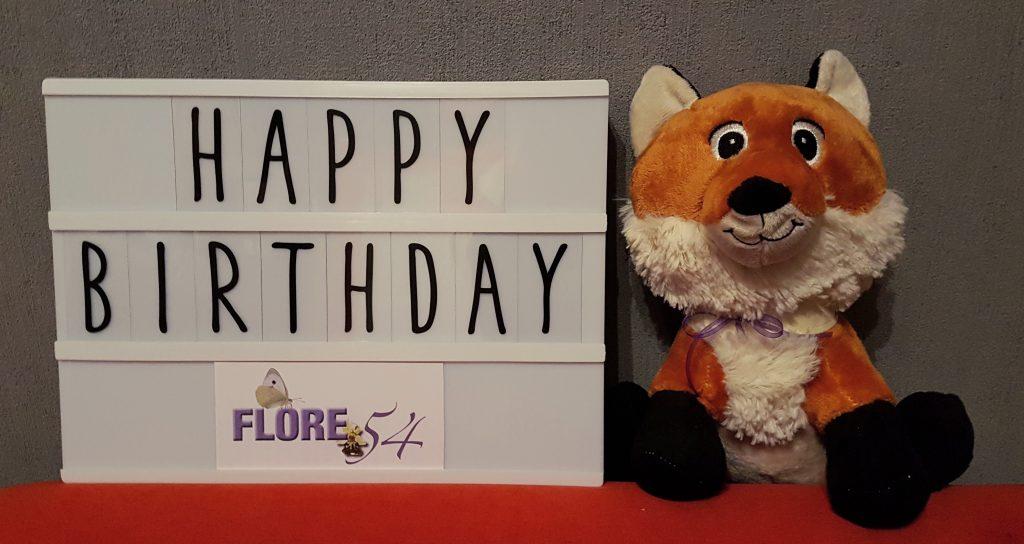 joyeux anniversaire fédération FLORE 54
