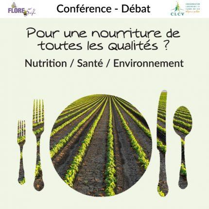 conférence-débat alimentation